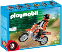 PLAYMOBIL Sports & Action 5115 Motocross