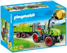 PLAYMOBIL Country 5121 Grand tracteur avec remorque