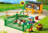 PLAYMOBIL Country 5123 Enclos à lapins et enfant
