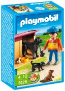 PLAYMOBIL Country 5125 Chiens et fermier