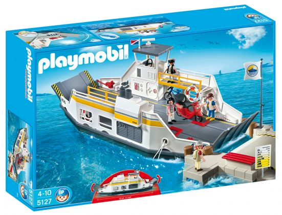 PLAYMOBIL City Life 5127 Bac et plate-forme