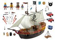 playmobil pirates 5135 pas cher bateau d 39 attaque des pirates. Black Bedroom Furniture Sets. Home Design Ideas