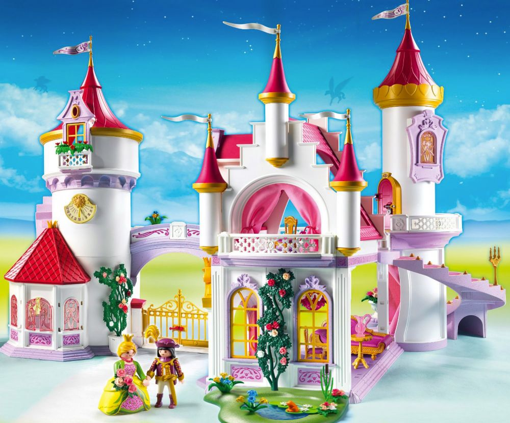 playmobil princess 5142 pas cher palais de princesse