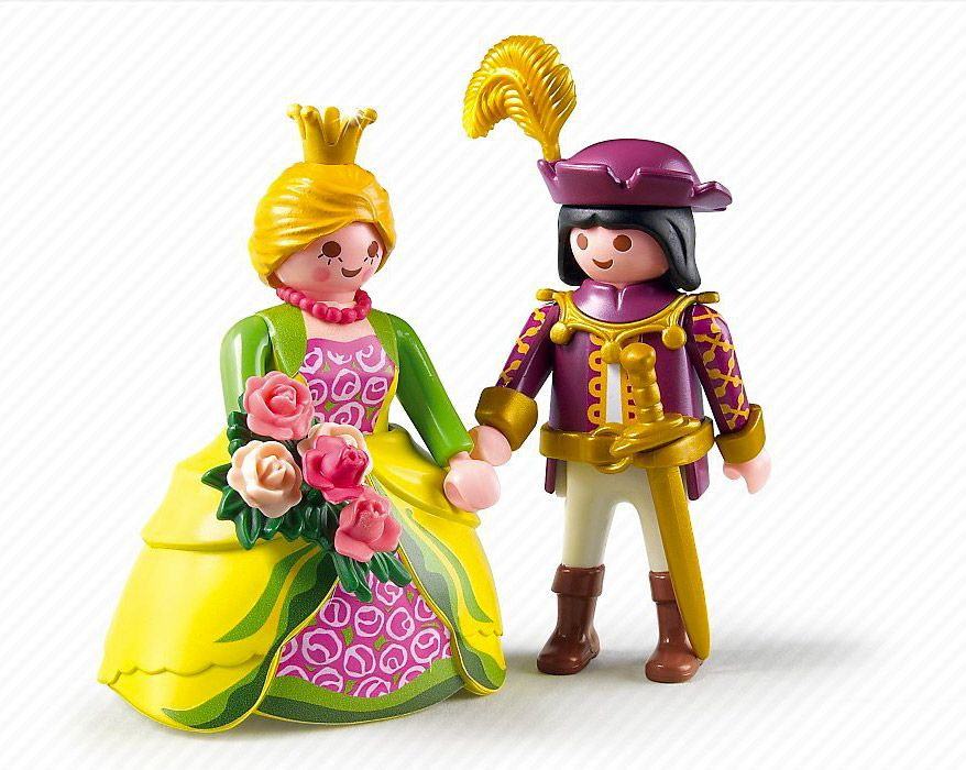 Playmobil princess 5142 pas cher palais de princesse for Playmobil chambre princesse