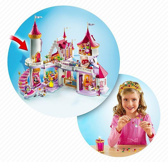 Playmobil princess 5142 pas cher palais de princesse for Playmobil princesse 5142