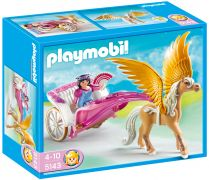 PLAYMOBIL Princess 5143 Carrosse avec cheval ailé