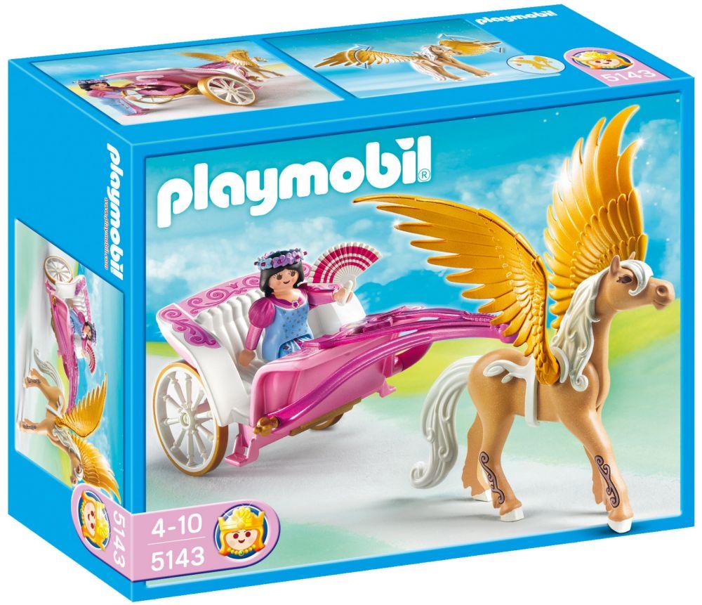 playmobil princess 5143 pas cher carrosse avec cheval ail