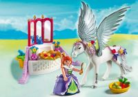 PLAYMOBIL Princess 5144 Cheval ailé et coiffeuse de princesse