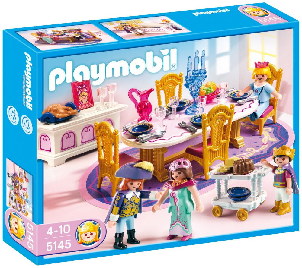 Stunning playmobil chambres princesses images seiunkel for Salle a manger playmobil