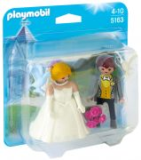 PLAYMOBIL Dollhouse 5163 - Duo Couple de mariés pas cher
