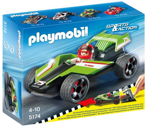 PLAYMOBIL Sports & Action 5174 Bolide Turbo
