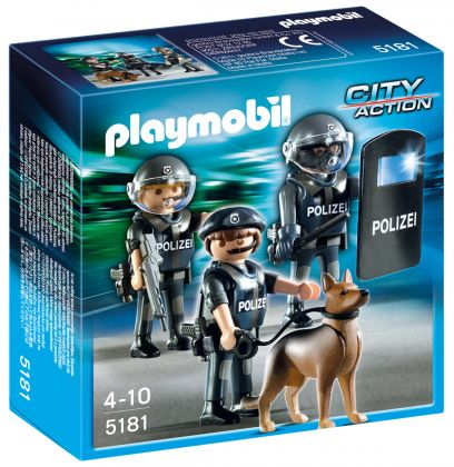 PLAYMOBIL City Action 5181 Commando de policiers