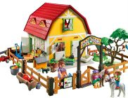 PLAYMOBIL Country 5222 Ranch avec poneys