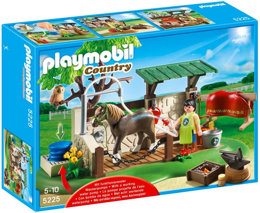 playmobil country 5225 pas cher box de soins pour chevaux. Black Bedroom Furniture Sets. Home Design Ideas