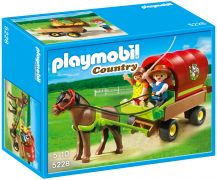 PLAYMOBIL Country 5228 Enfants et carriole