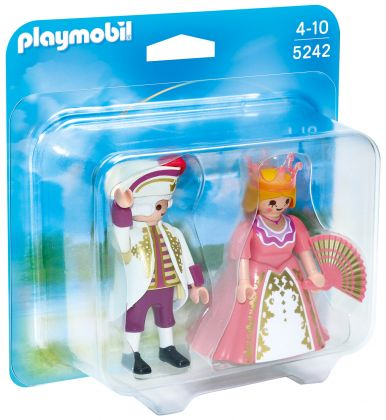 PLAYMOBIL Princess 5242 Duo comte et comtesse