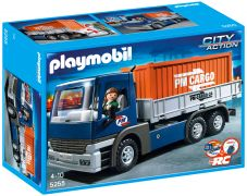 PLAYMOBIL City Action 5255 Camion porte-conteneurs