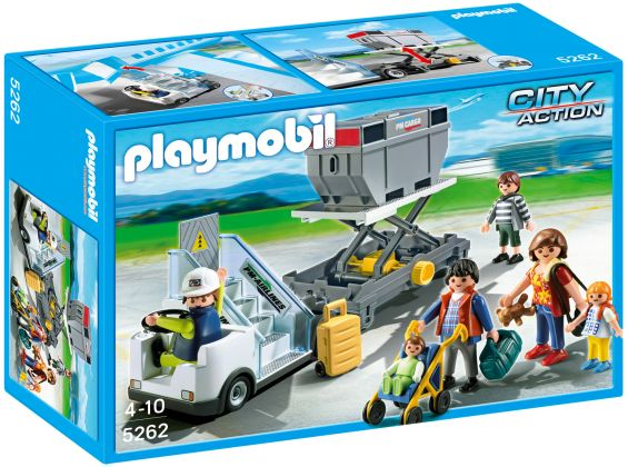 PLAYMOBIL City Action 5262 Passerelle d'embarquement avec passagers