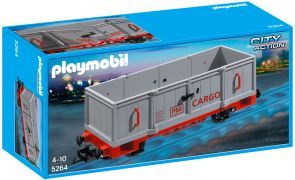 PLAYMOBIL City Action 5264 Wagon de marchandise