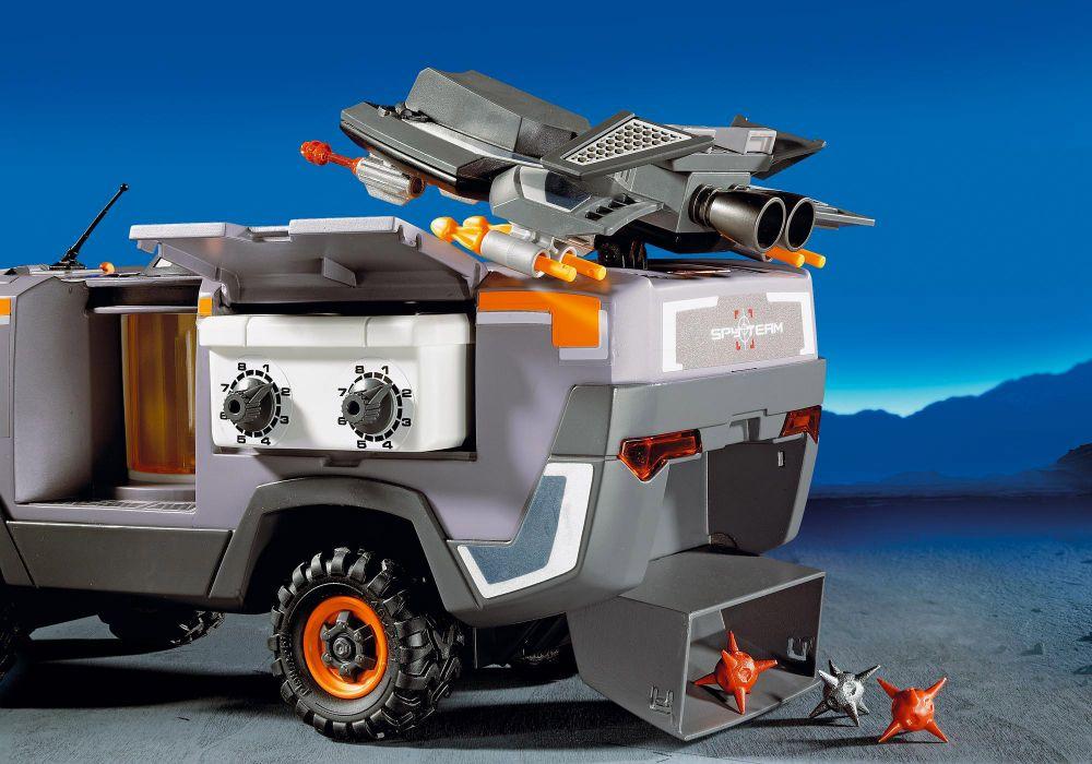 playmobil top agents 5286 pas cher  camion des agents secrets