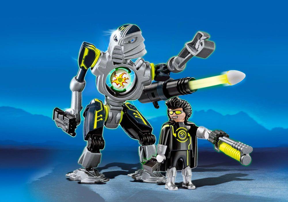 playmobil top agents 5289 pas cher  robot des mega masters
