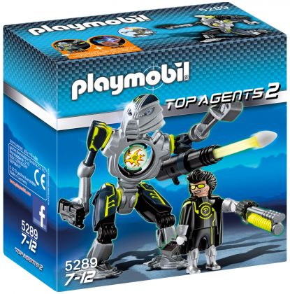 PLAYMOBIL Top Agents 5289 Robot des Mega Masters
