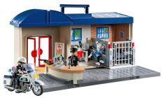 PLAYMOBIL City Action 5299 Commissariat de police transportable