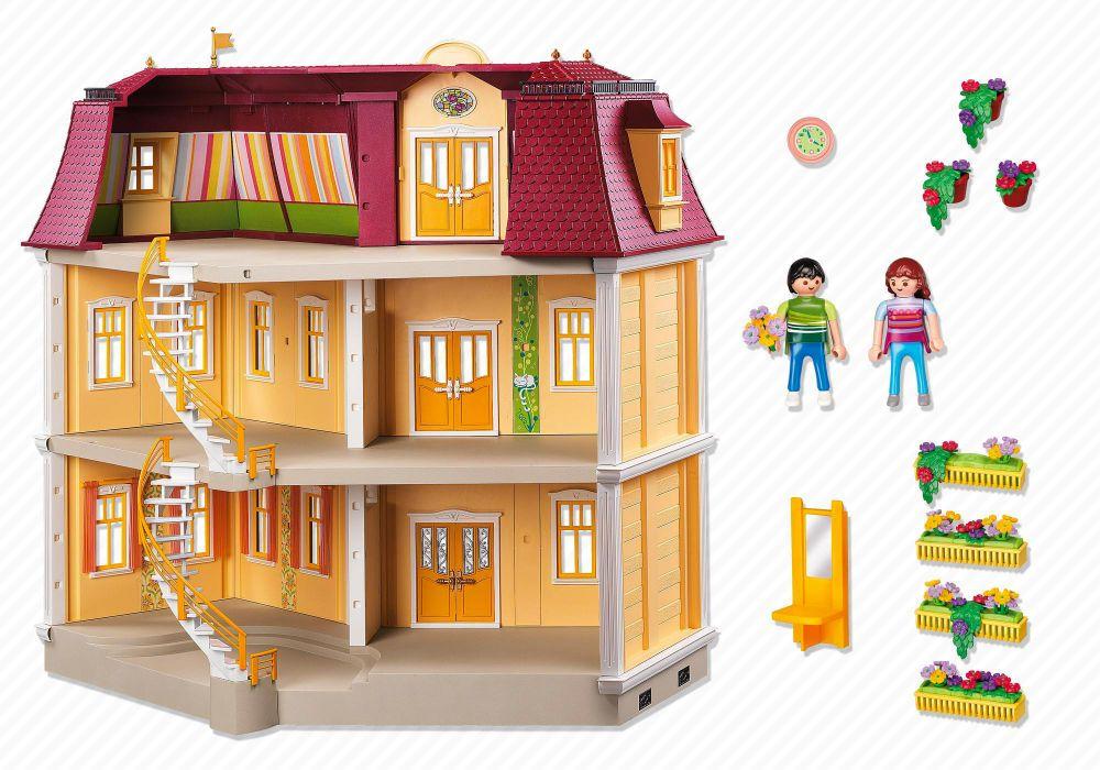 Playmobil dollhouse 5302 pas cher maison de ville - Toute les maison playmobil ...
