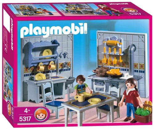 PLAYMOBIL Dollhouse 5317 Famille / Cuisine traditionnelle