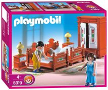 PLAYMOBIL Dollhouse 5319 - Parents / Chambre traditionnelle pas cher