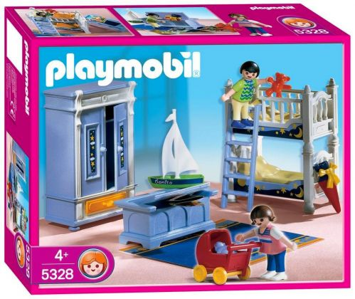 PLAYMOBIL Dollhouse 5328 Enfants / Chambre traditionnelle