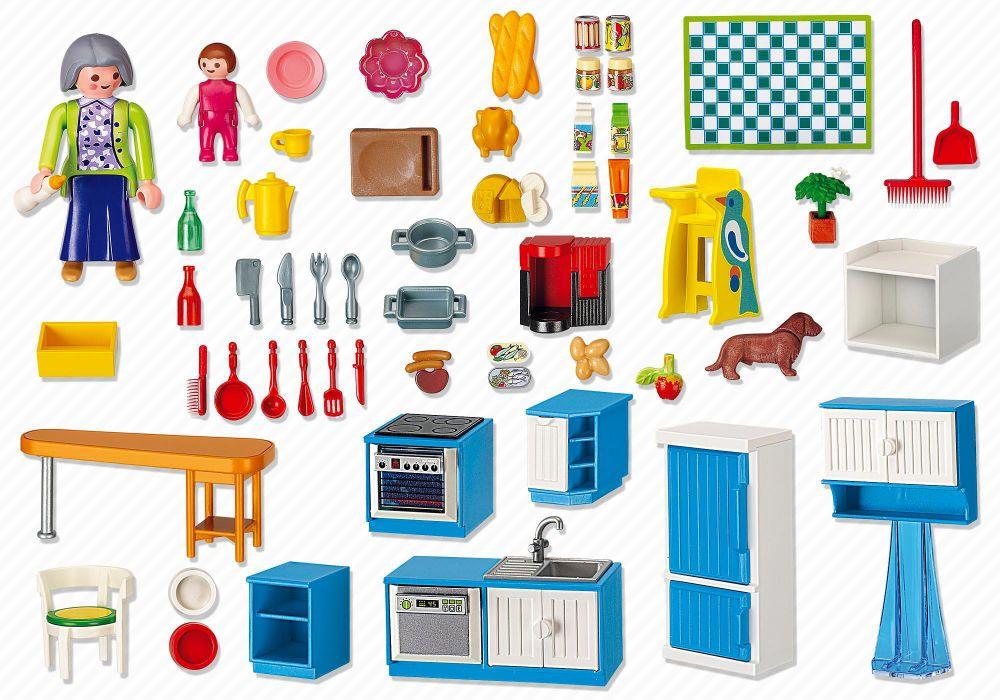 Playmobil Dollhouse 5329 Pas Cher Cuisine