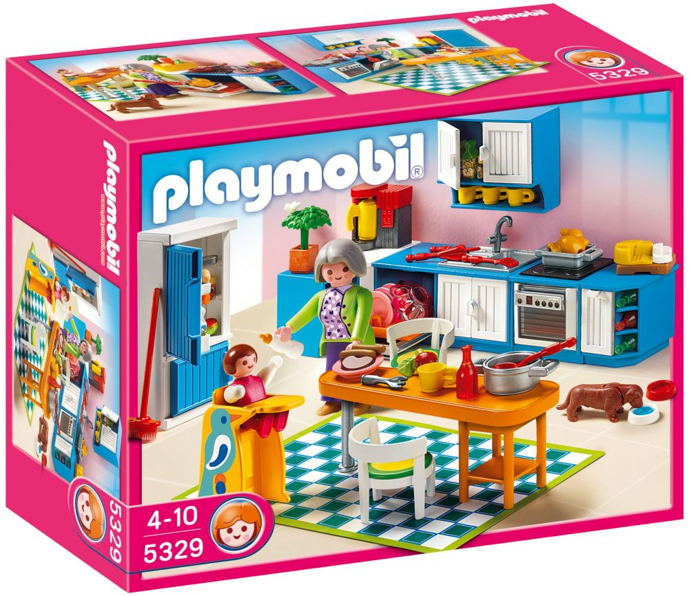playmobil dollhouse 5329 pas cher cuisine. Black Bedroom Furniture Sets. Home Design Ideas