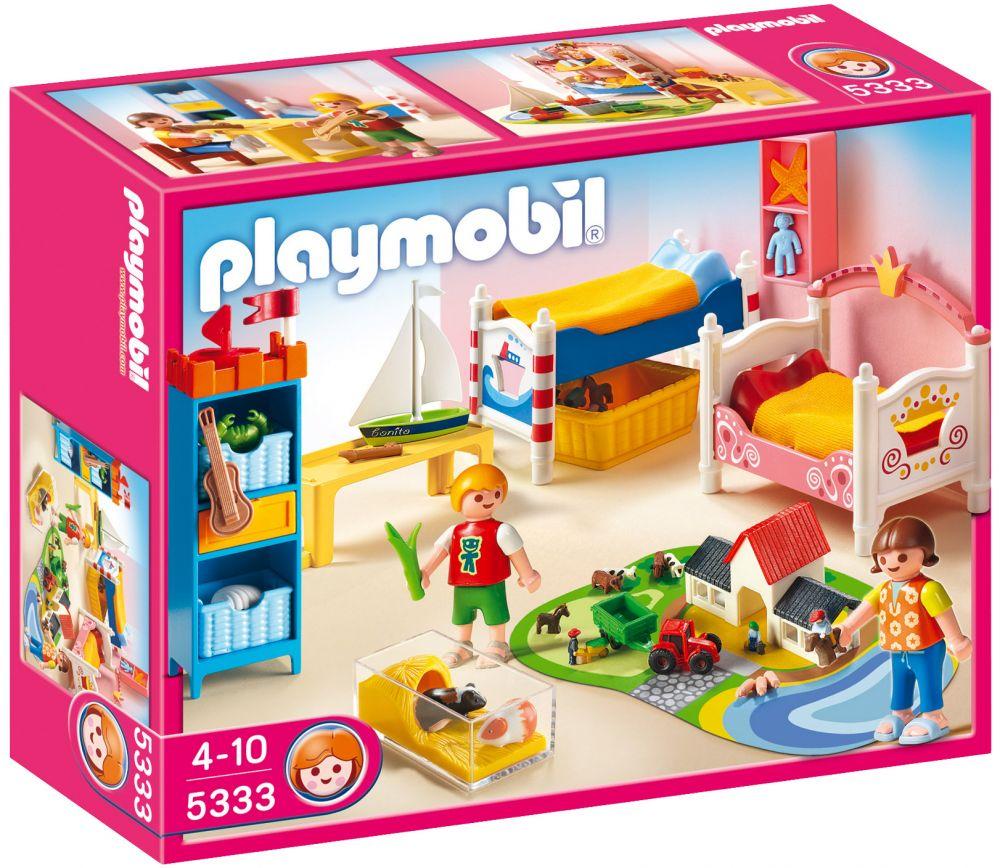 Playmobil dollhouse 5333 pas cher chambre des enfants - Playmobil chambre enfant ...