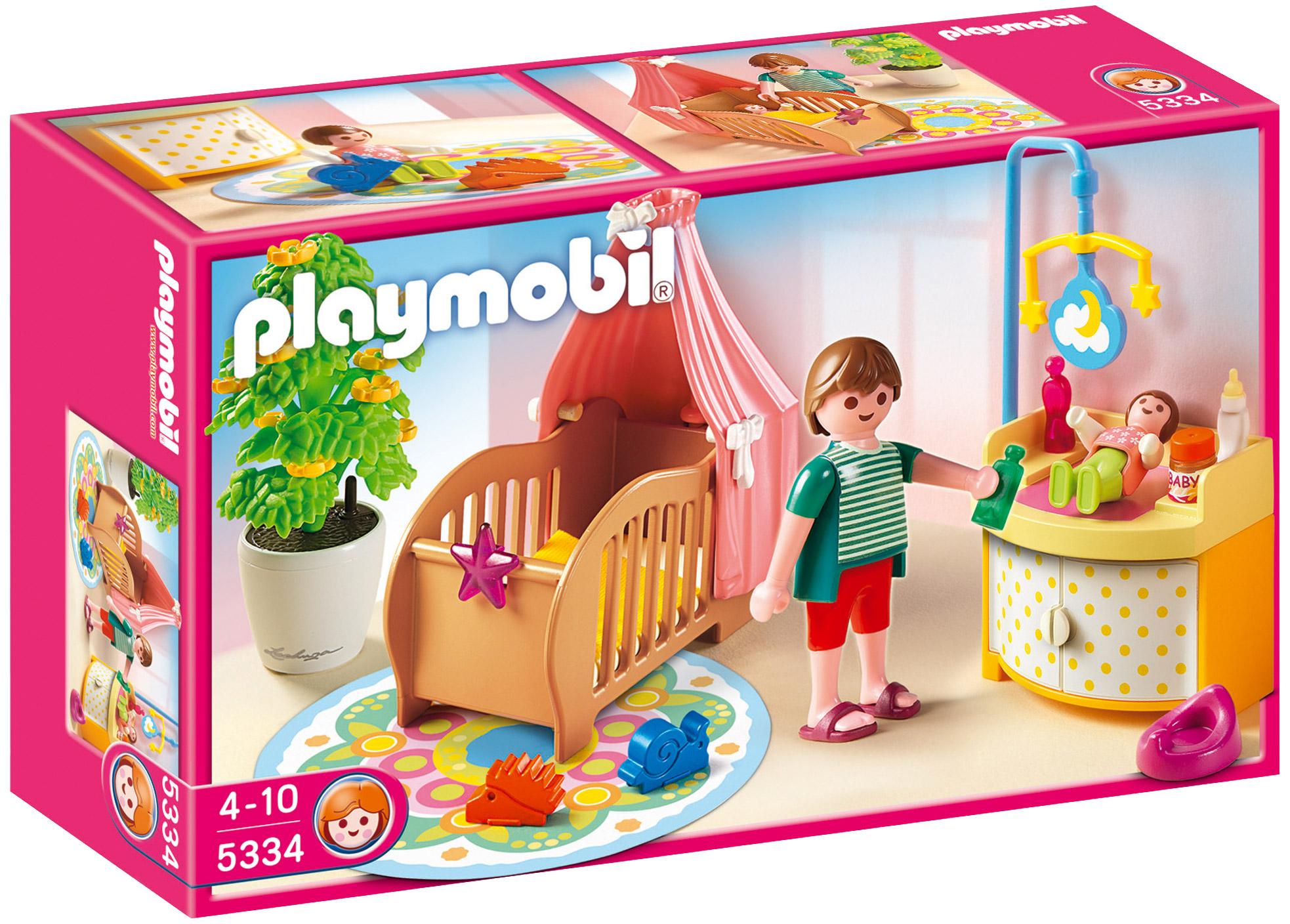 PLAYMOBIL Dollhouse 5333 pas cher - Chambre des enfants avec lits ...