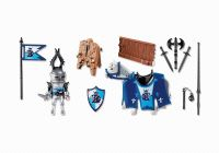 PLAYMOBIL Knights 5356 Piste de joute du chevalier Lion royal