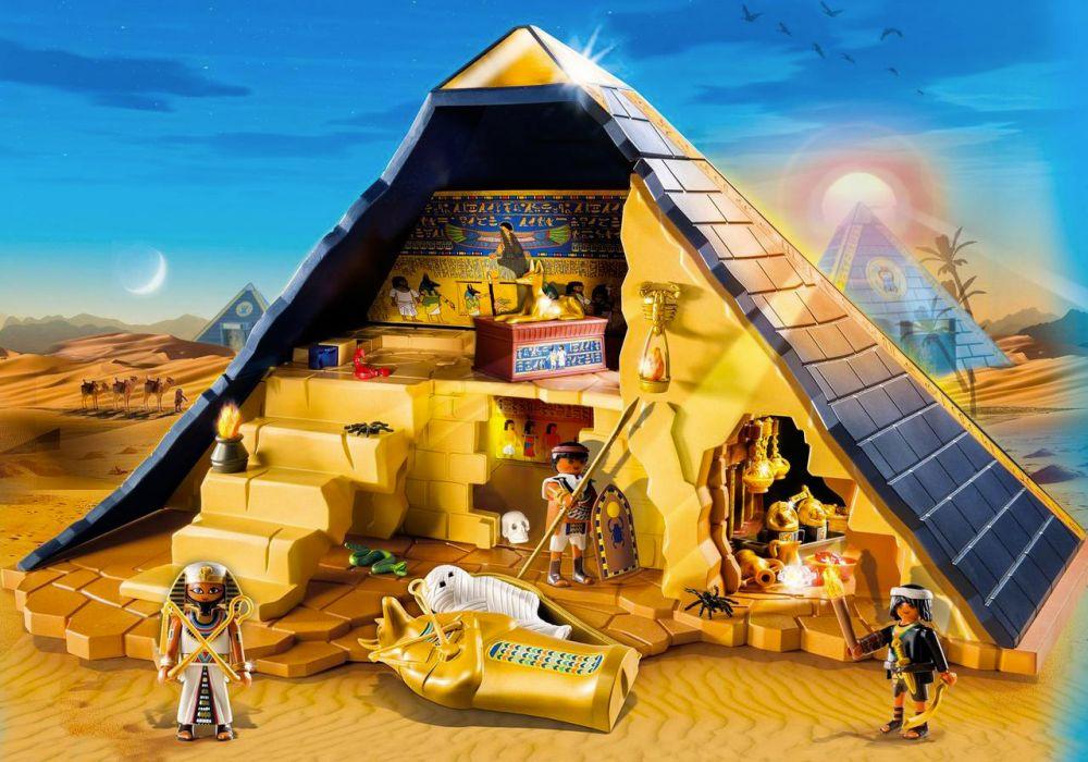 Cher Pyramide 5386 Pharaon Du Playmobil History Pas kZOXPiu