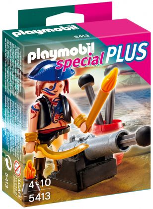 PLAYMOBIL Special Plus 5413 Canonnier Des Pirates