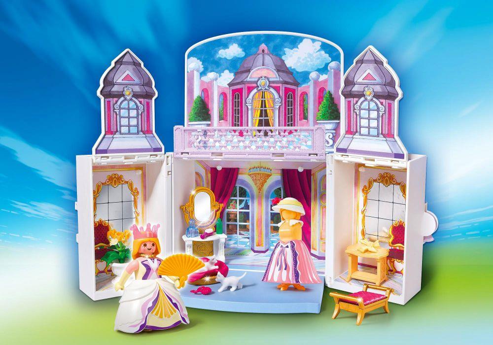 Playmobil princess 5419 pas cher coffre princesse for Chateau playmobil princesse 5142