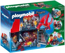 "PLAYMOBIL Dragons 5420 Coffre ""Chevaliers dragons"""