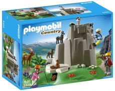 PLAYMOBIL Country 5423 Alpinistes et animaux de la montagne