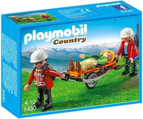PLAYMOBIL Country 5430 Secouristes avec brancard