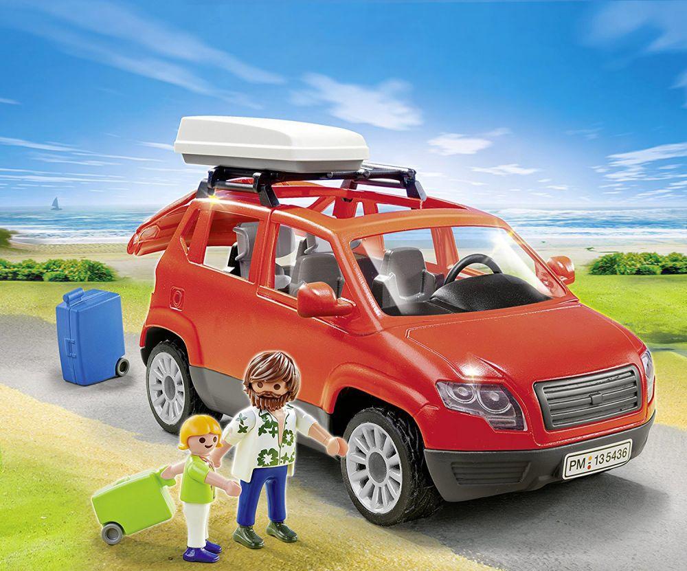 playmobil summer fun 5436 pas cher voiture avec coffre. Black Bedroom Furniture Sets. Home Design Ideas