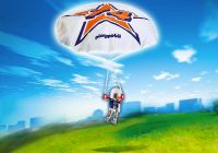 PLAYMOBIL Sports & Action 5455 Parachutiste Rick