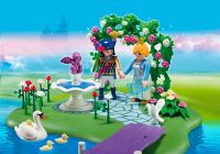 PLAYMOBIL Princess 5456 Ilot des princesses et gondole