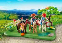PLAYMOBIL Country 5457 Cavaliers avec poneys et carriole