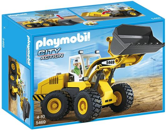 PLAYMOBIL City Action 5469 Chargeuse avec godet