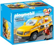 PLAYMOBIL City Action 5470 Chef de chantier et véhicule d'intervention