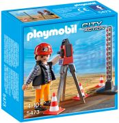 PLAYMOBIL City Action 5473 Géomètre