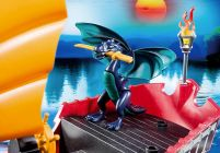 PLAYMOBIL Dragons 5481 Vaisseau d`attaque du Dragon